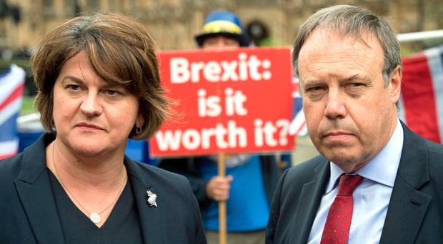 The DUP's Arlene Foster and Nigel Dodds may have to accept a deal they are not happy with