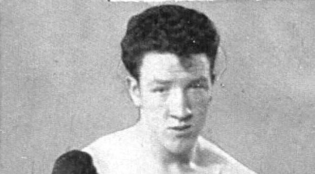 Former Belfast boxing champion, Paddy Graham