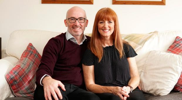 Adoptive parents Lynne and Brian are encouraging others to adopt too