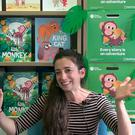 Author Marta Altes is visiting four schools here to run a series of workshops