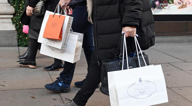 Consumer footfall in Northern Ireland has dropped by 3.1% in September. (Victoria Jones/PA)