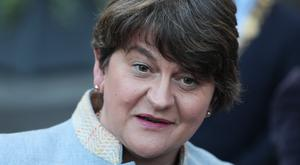 DUP leader Arlene Foster has faced criticism from political rivals in Northern Ireland over the proposed Brexit deal (PA)