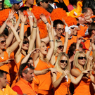 Dutch football fans will parade through Belfast to Windsor Park next month