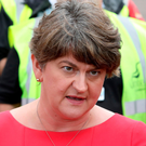 Opposed: DUP leader Arlene Foster