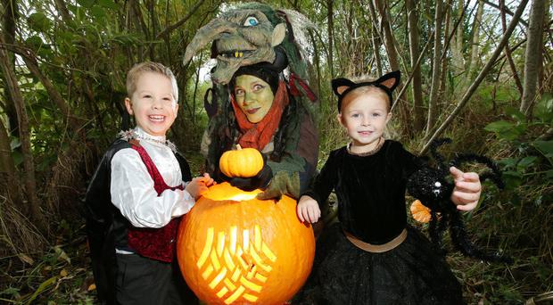 Halloween is coming to the People's Park in Ballymena next week
