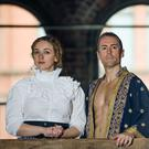 Belfast barrister Bobbie-Leigh Herdman with Kerry Rooney in The King and I at the Theatre at the Mill