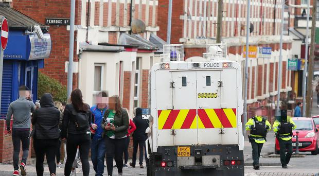 Police in the Holylands