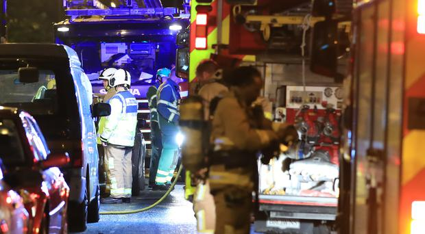 Almost half of incidents attended by the fire service in Northern Ireland last Halloween were started deliberately, a group commander said (Peter Byrne/PA).