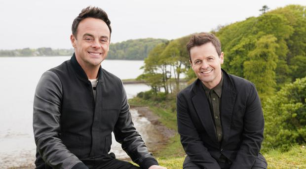 Declan Donnelly (right) with co-host Anthony McPartlin