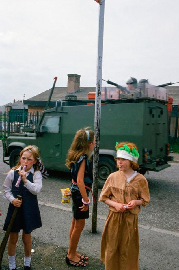 A selection of shots captured by Iranian photographer Kaveh Kazemi during the Troubles