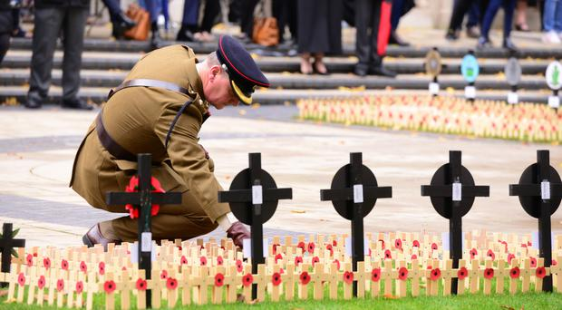 Where can you mark Remembrance Sunday?