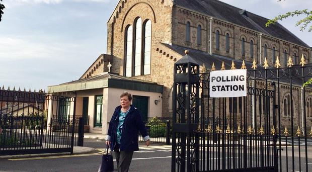 Eighteen seats are up for grabs in Northern Ireland (David Young/PA)