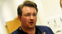 Dr Ian Crawford, who has issued a grim prediction about patient safety