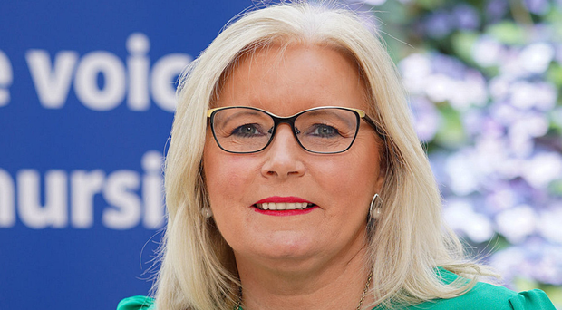 RCN boss Pat Cullen feels nurses have been pushed to breaking point