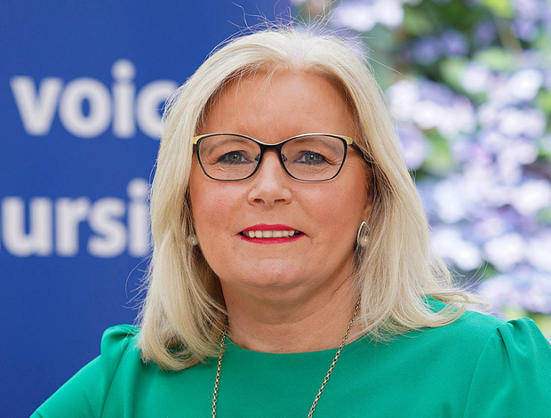 Pat Cullen is the director of the Royal College of Nursing NI
