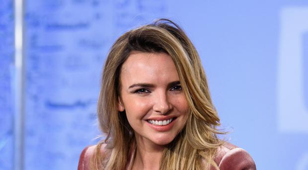 Girls Aloud star Nadine Coyle who is one of the 10 contestants on the new series of I'm a Celebrity... Get Me Out of Here