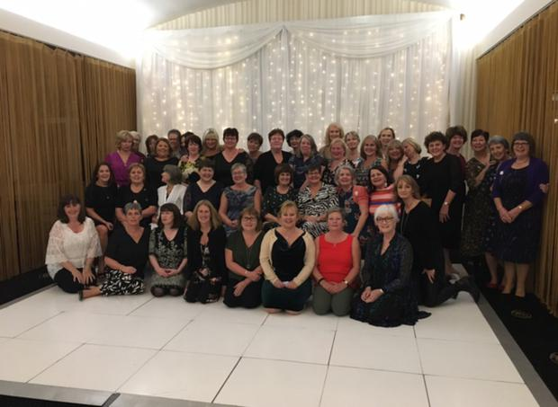 Some of the nurses at the reunion in Co Donegal