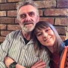 Missing man Kevin McGrath with his daughter Claire McGrath