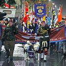 Clyde Valley Flute Band supporting Soldier F earlier this year