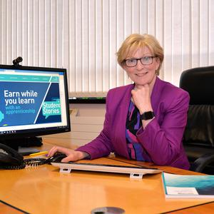 Professor Terri Scott, principal and chief executive of Northern Regional College