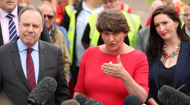"""Claims have been made the DUP was """"manoeuvring"""" to get Nigel Dodds and Emmal Little Pengelly elected positions."""