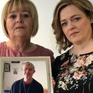 Patricia Bennett, left, and her sister Michelle Finnegan have made a fresh appeal for information into the murder of their father Eugene Carr in 2015 (Rebecca Black/PA)