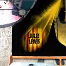 The mural in tribute of Julie Lewis