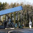 The forecourt roof of the filling station collapse during the attempted ATM theft