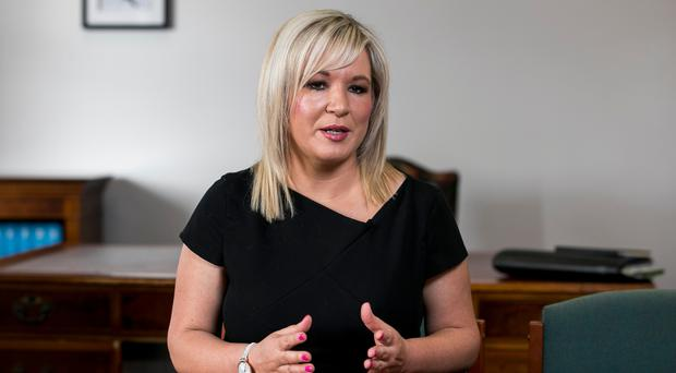Sinn Fein deputy leader Michelle O'Neill says her party is more democratic than many others (Liam McBurney/PA)