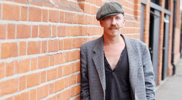 Musican Foy Vance pictured in Belfast City Centre.