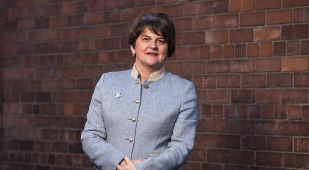 Arlene Foster said the DUP cannot support Labour as long as Jeremy Corbyn is leader (Liam McBurney/PA)