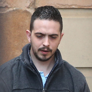 Liam Whoriskey outside Londonderry Crown Court yesterday