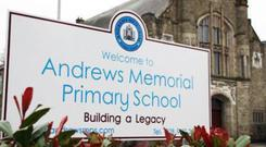 A large part of Andrews Memorial Primary School will stay closed this week