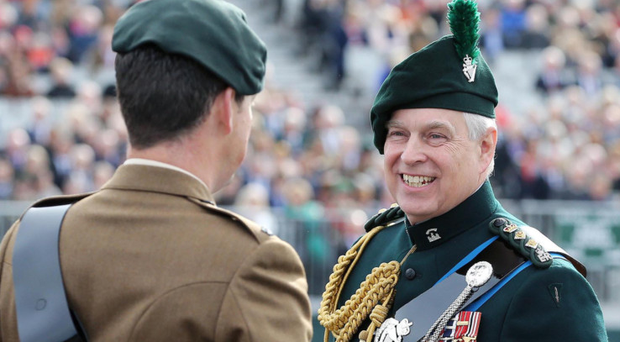 The Royal Irish Regiment were presented with new Colours by the Duke of York in Belfast last year