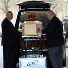 The funeral of Billy Simpson at Roselawn
