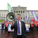 Kevin McAdam of Unite said parity of pay had yet to be achieved