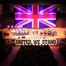 Crowds attend a rally in opposition to Boris Johnson's Brexit deal at the Ulster Hall on Friday (Forgotten Voices media group/PA)