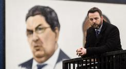 SDLP leader Colum Eastwood would be a 'passionate advocate' for Europe if he wins a Westminster seat, the wife of peace process founder John Hume said (Liam McBurney/PA)