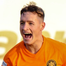 Jerry Thompson in action for Carrick Rangers