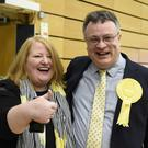 The staunchly pro-Remain Alliance Party has taken Northern Ireland's first Westminster seat in a major upset for the DUP (Michael Cooper/PA)
