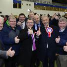 Sir Jeffrey Donaldson held his seat in Lagan Valley