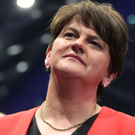 Arlene Foster on election night
