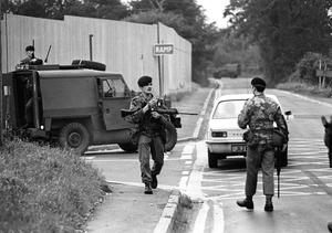 The aftermath of the Maze escape when 38 IRA inmates fled in a food lorry