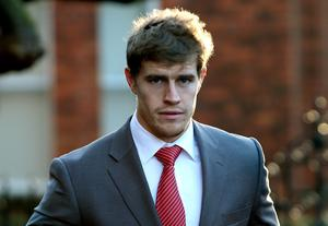 Ireland rugby international Andrew Trimble