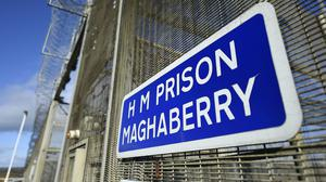 Five prison officers have tested positive for Covid-19 (Michael Cooper/PA)