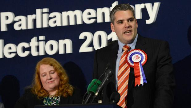 Gavin Robinson wins back the seat from Naomi Long in 2015