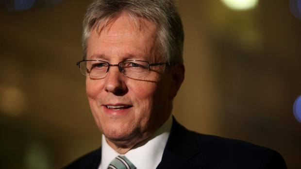 Peter Robinson said the DUP 'would not support any administration that was going to be captive to a separatist party'