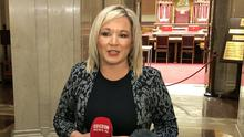 Deputy First Minister of Northern Ireland Michelle O'Neill (David Young/PA)