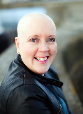 Lyn Magill without hair