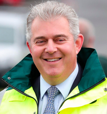 Secretary of State Brandon Lewis insisted businesses would face no new infrastructure